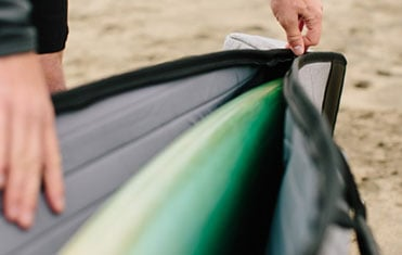 Surfboard Bags, Surfboard Racks, and Surfboard Traction