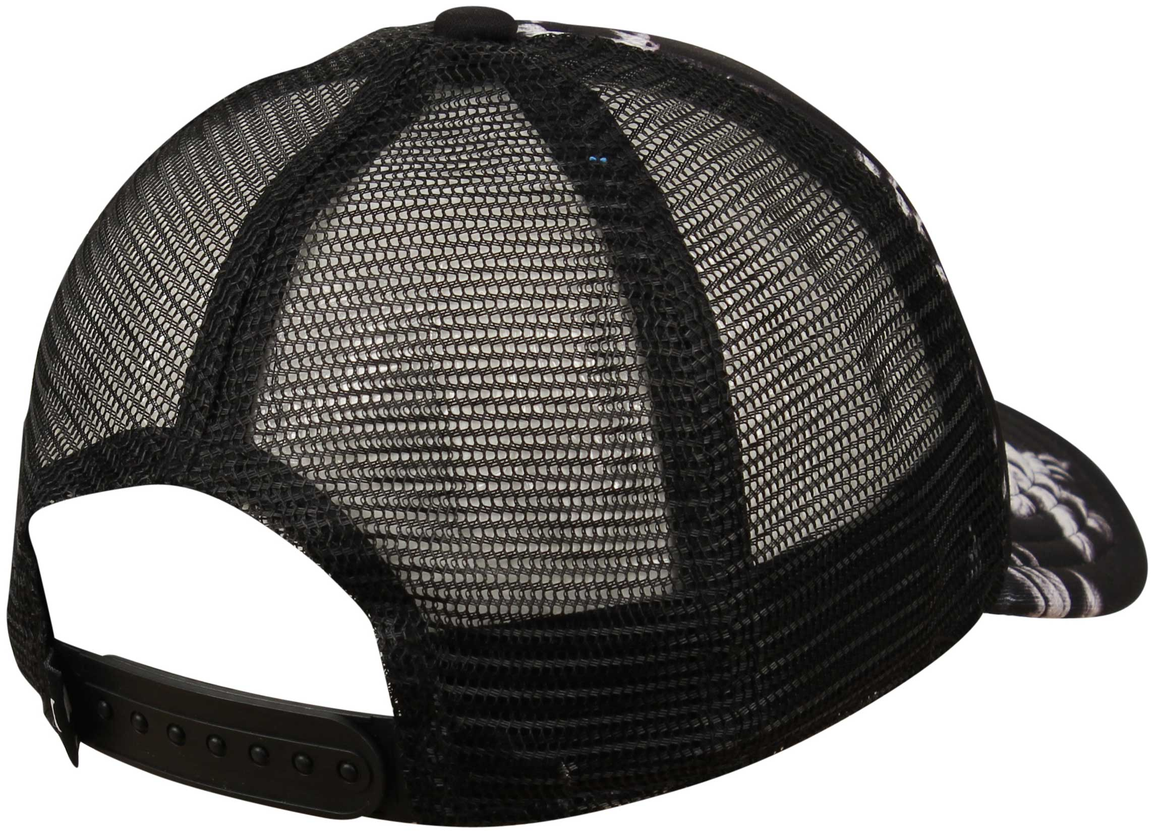 hurley one and only s trucker hat black palm for