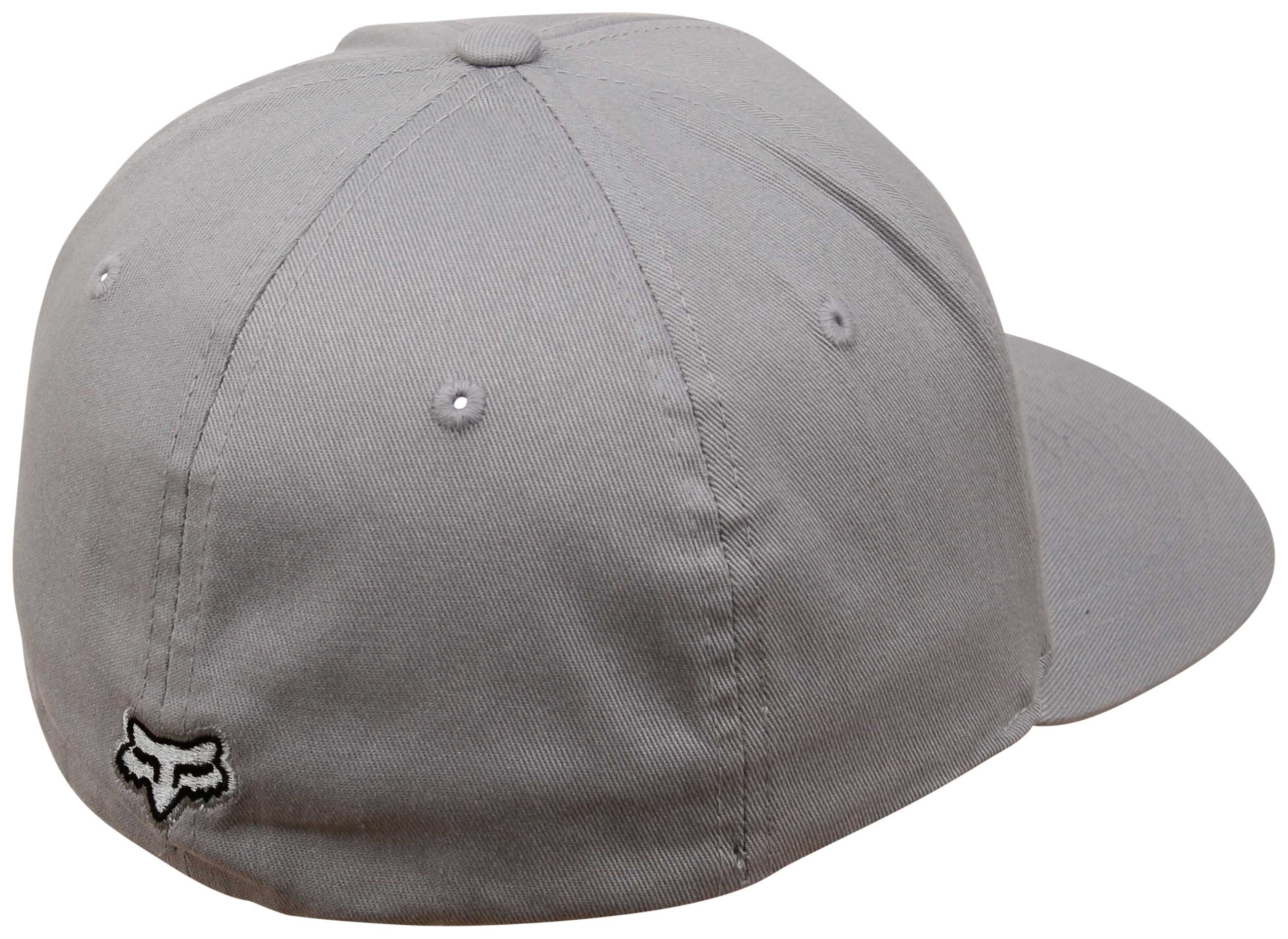 finest selection ac97f 2e788 ... Back of Fox Flex 45 Hat - Steel Grey