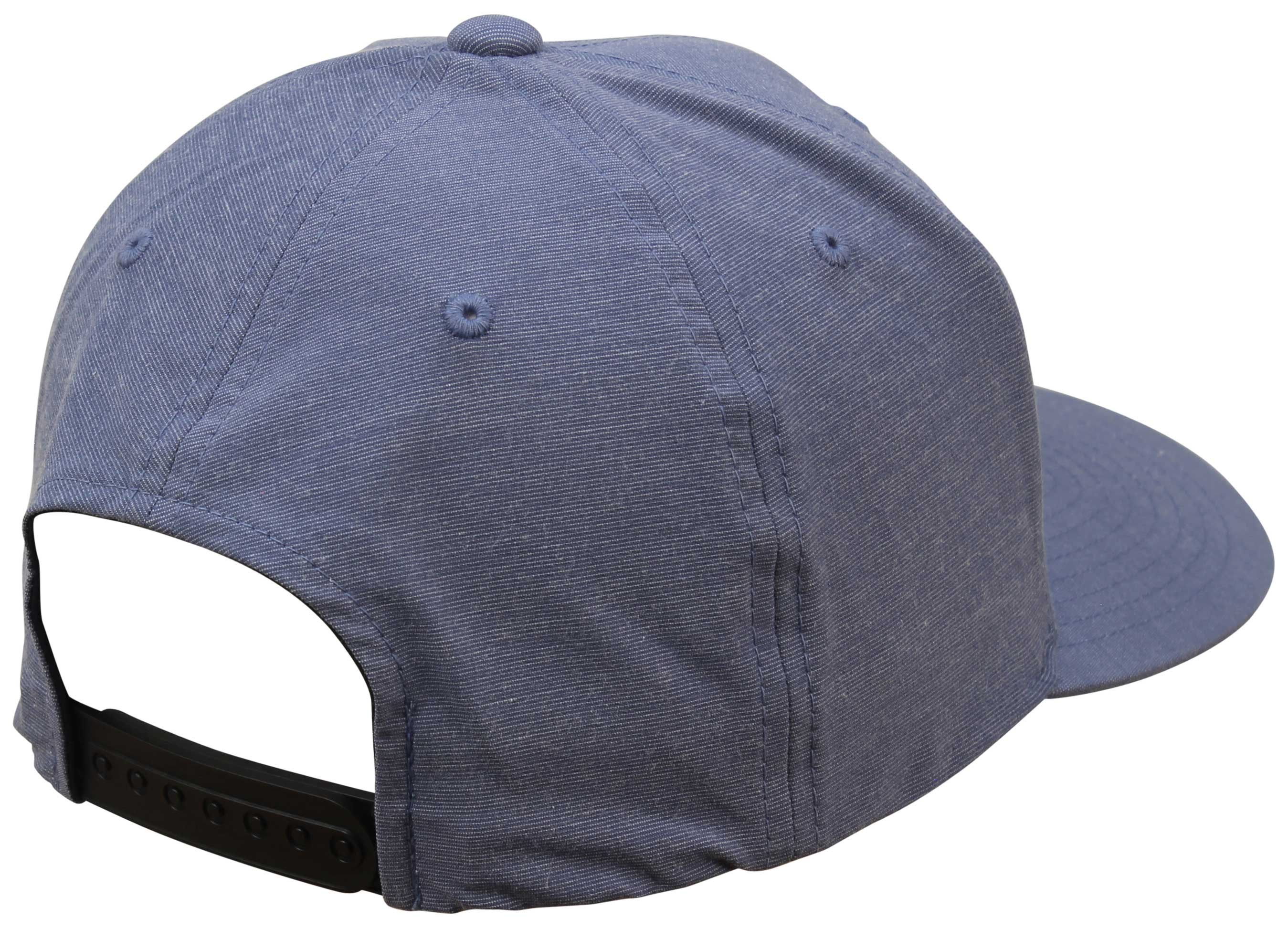 online retailer d979a 2033b Quiksilver Union Heather Snapback Hat - Bijou Blue - New - Back