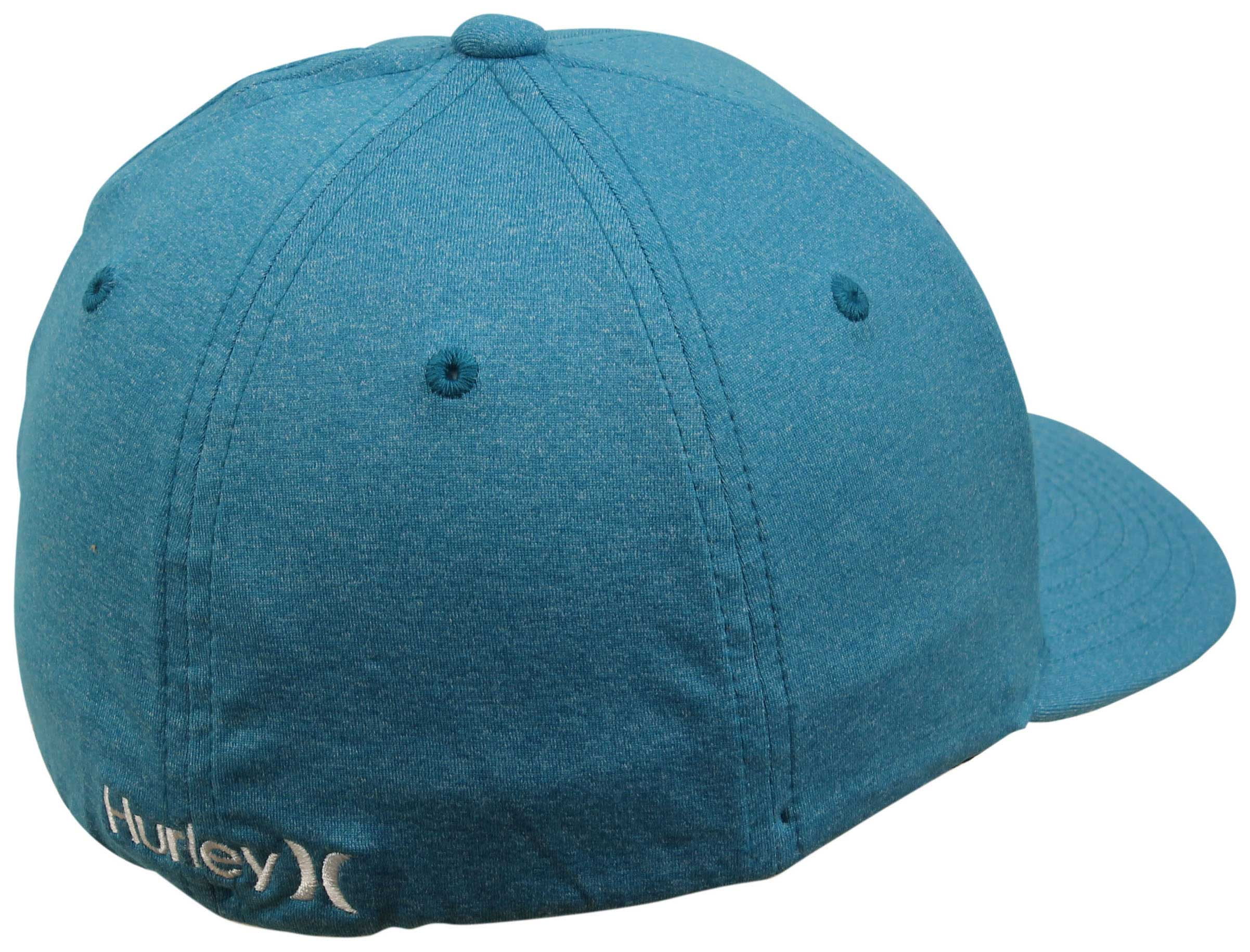 new product 2d499 bb092 ireland back of hurley one and textures hat chlorine blue 4a043 47b56