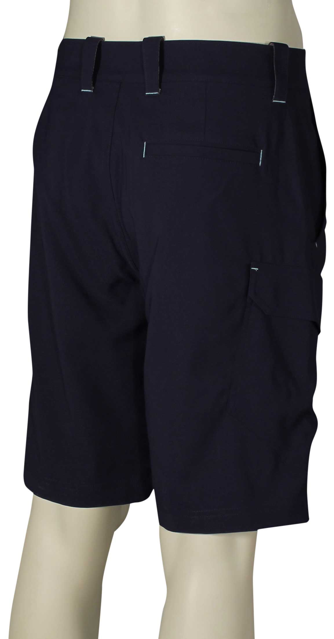 Under armour fish hunter cargo shorts midnight navy for Under armour fishing shorts