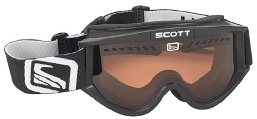 Scott Heli OTG Snow Goggles - Black / Amplifier