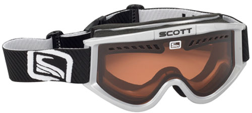 Scott Heli OTG Snow Goggles -Silver / Amplifier