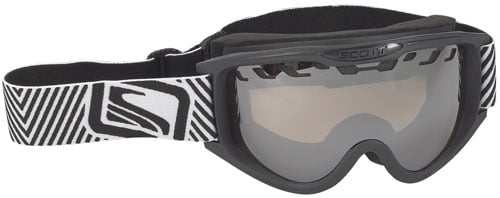 Scott Decree Snow Goggles - Black / Natural Light Chrome