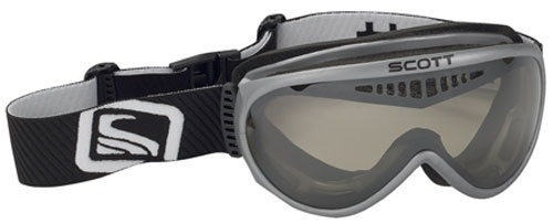 Scott Storm OTG Snow Goggles - Silver / Natural Light Chrome