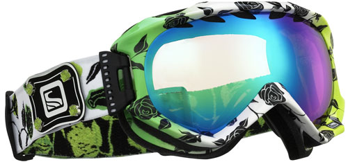 Scott Alibi Sonnet Snow Goggles - Light Amp / Multi Layer Green Chrome