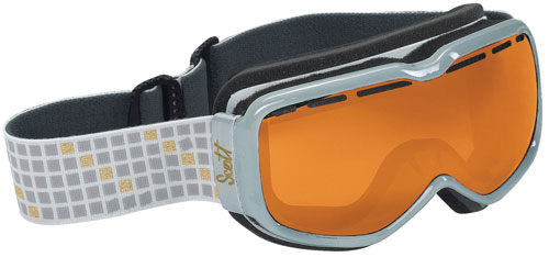 Scott Aura Snow Goggles - Silver / Natural Light Chrome