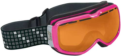Scott Aura Snow Goggles - Pink / Natural Light Chrome