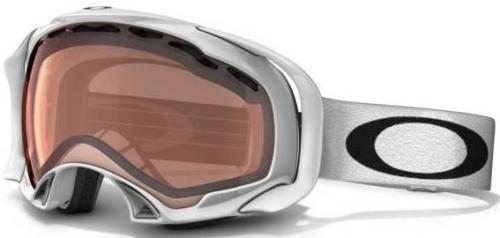 Oakley Splice Snow Goggles - Polished White / VR28 Polarized