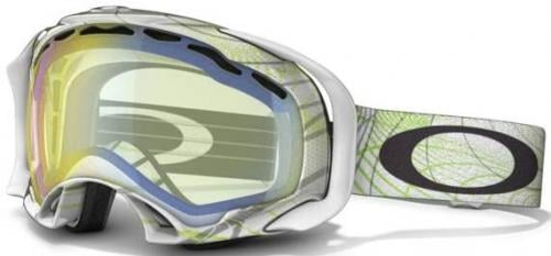 Oakley Splice Snow Goggles - Orbit Mint / H.I. Yellow