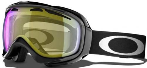 Oakley Elevate Snow Goggles - Jet Black / H.I. Yellow