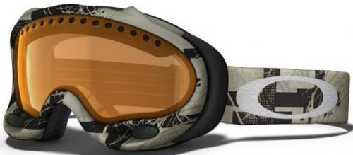 Oakley A Frame Snow Goggles - Sand Storm / Persimmon