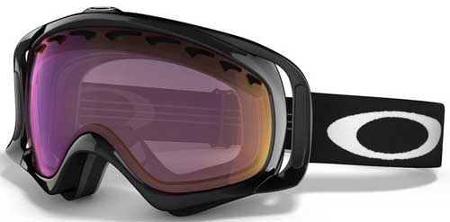 Oakley Crowbar Snow Goggles - Jet Black / G30