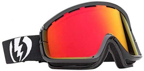 Electric EGB2 Snow Goggles - Gloss Black / Bronze Red Chrome