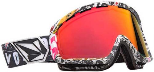 Electric EGB2 Snow Goggles - V. Co-Lab / Bronze Red Chrome