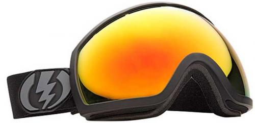 Electric EG2 Snow Goggles - Matte Black / Bronze Red Chrome