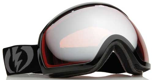 Electric EG2 Snow Goggles - Gloss Black / Orange Silver Chrome