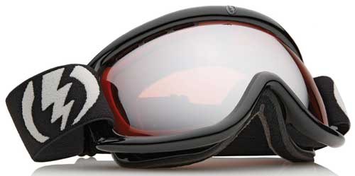 Electric EG.5-S Snow Goggles - Gloss Black / Orange Silver Chrome