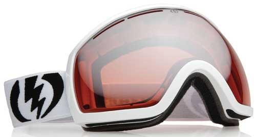 Electric EG2 Snow Goggles - White Standard Issue / Orange Silver Chrome