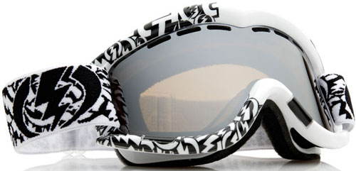 Electric EG1 Snow Goggles - Comic Script / Bronze Silver Chrome