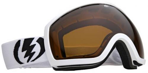 Electric EG2 Snow Goggles - Gloss White / Bronze