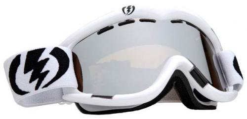 Electric EG1 Snow Goggles - Gloss White / Bronze Silver Chrome