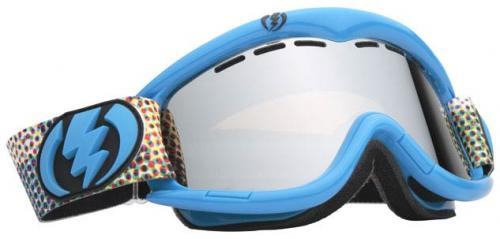 Electric EG1 Snow Goggles - Cyan Toned / Bronze Silver Chrome