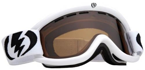 Electric EG.5 Snow Goggles - Gloss White / Bronze