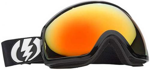 Electric EG2 Snow Goggles - Gloss Black / Bronze Red Chrome