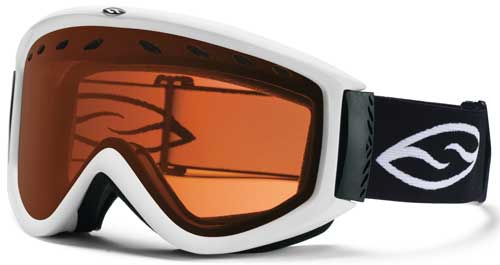 Smith Optics Cascade Snow Goggles - White / RC36