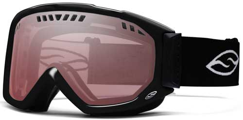 Smith Optics Scope Pro Snow Goggles - Black / Ignitor Mirror