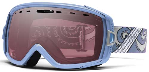 Smith Optics Heiress Snow Goggles - Smoky Blue Garden / Ignitor Mirror