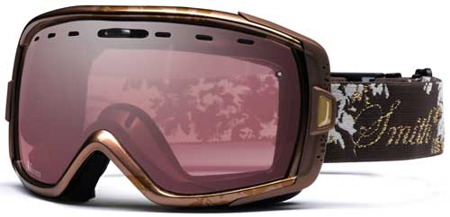 Smith Optics Heiress Snow Goggles - Bronze Leaves / Ignitor Mirror