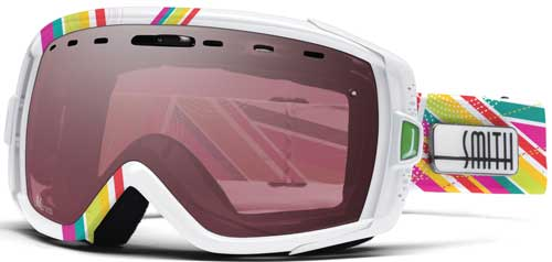 Smith Optics Heiress Snow Goggles - White Southbeach / Ignitor Mirror
