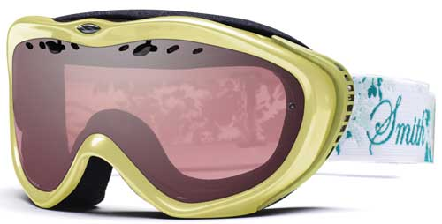 Smith Optics Anthem Snow Goggles - Yellow Leaves / Ignitor Mirror