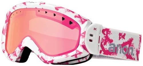 Anon Majestic Snow Goggles - Scratchy / Pink SQ Mirror