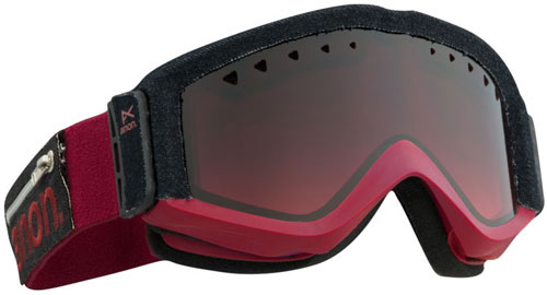 Anon Figment Snow Goggles - Torn / Red Gradient