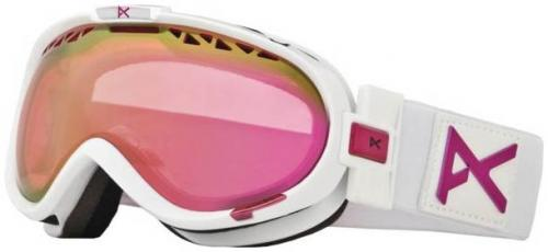 Anon Solace Snow Goggles - White Emblem / Pink SQ Lens