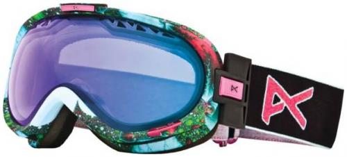 Anon Solace Snow Goggles - Fractal / Blue Lagoon