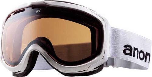 Anon Hawkeye Snow Goggles - White / Silver Amber