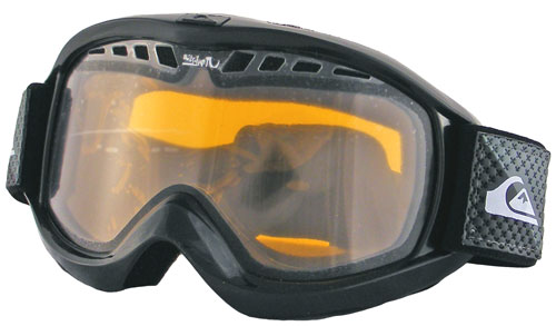 Quiksilver Eclipse Snow Goggles - Black Z05 / Orange