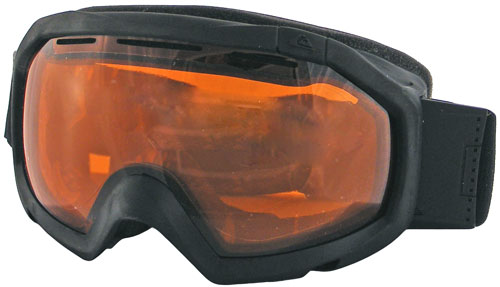 Quiksilver Facet Orb Snow Goggles - Black Z05 / Orange