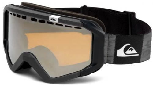 Quiksilver Q-1 OTG Snow Goggles - Black / Orange Chrome