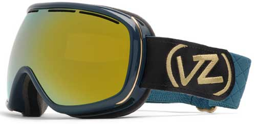 Von Zipper Chakra Snow Goggles - Peacock Metallic / Gold Chrome