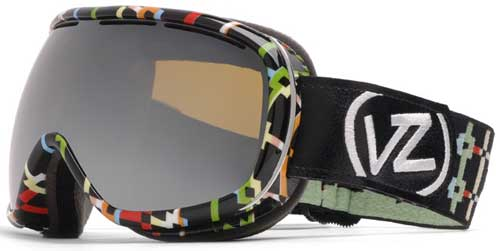 Von Zipper Chakra Snow Goggles - Intersection / Bronze Chrome