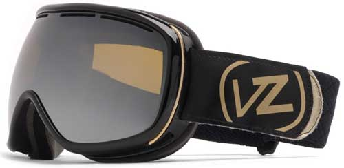 Von Zipper Chakra Snow Goggles - Black Gloss / Bronze Chrome