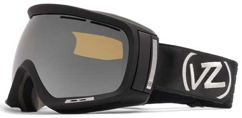 Von Zipper Dojo Snow Goggles - Black Satin / Bronze Chrome