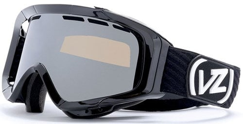 Von Zipper Porkchop Snow Goggles - Black Gloss / Bronze Chrome