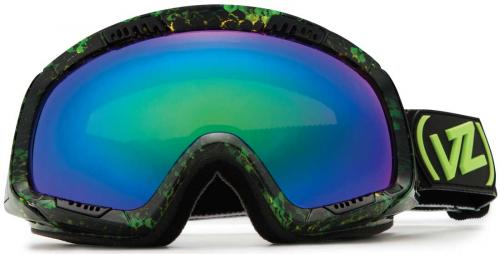 Von Zipper Feenom Snow Goggles - Snakey Lime / Quasar Chrome